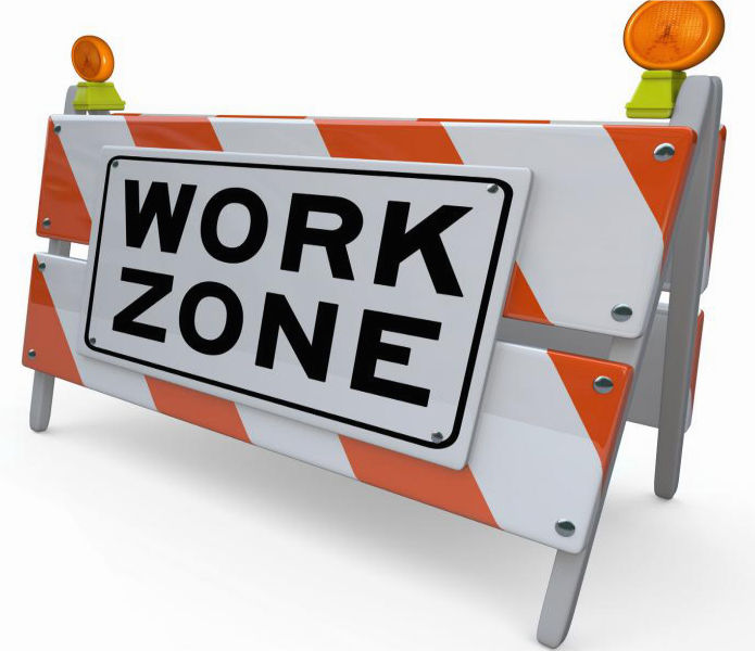 Work Zone Barricade